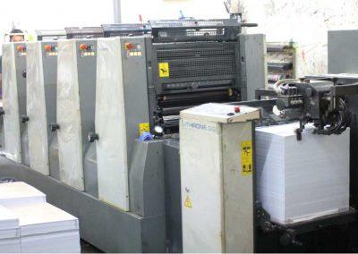 Mesin cetak KL420 4 warna